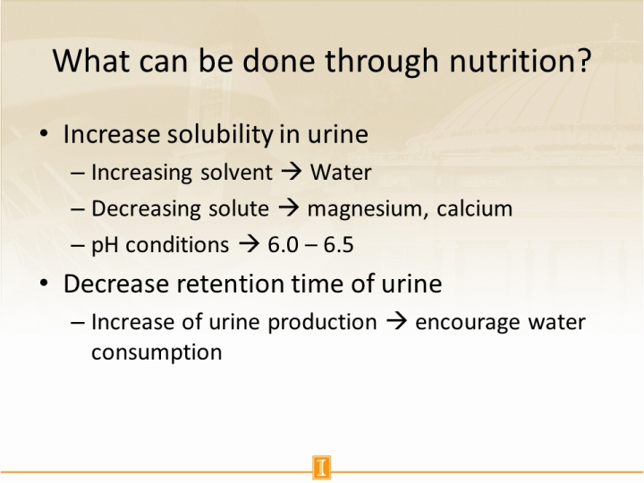 What can be done through nutrition?