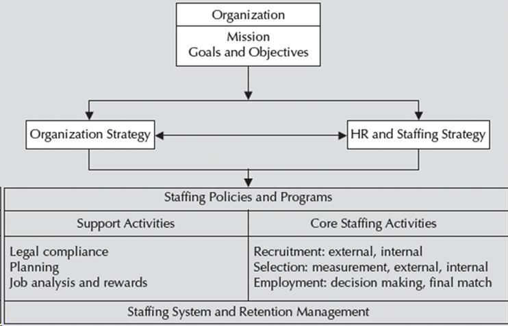 Staffing Organizations Model