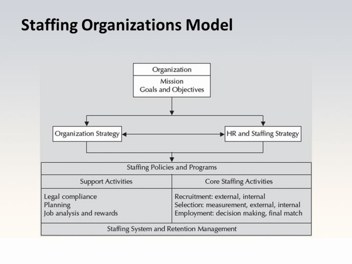 definition of staffing by different authors